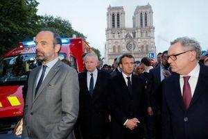 Tổng thống Macron: nhà thờ Đức Bà Paris sẽ 'đẹp hơn' sau 5 năm