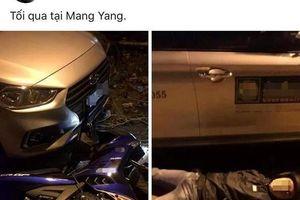 Tạo hiện trường tai nạn giao thông giả để sống ảo
