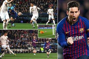 Clip 3 bàn thắng của Barcelona nhấn chìm Man Utd!