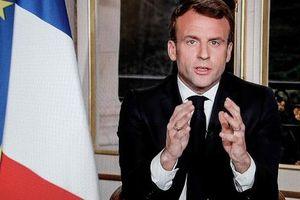 Tổng thống Pháp: 'Hiện không phải lúc dành cho chính trị'