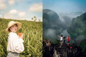 Ba địa điểm 'sống ảo quốc dân' hot nhất miền Bắc 2019