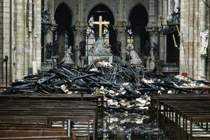 Pháp lên kế hoạch thiết kế phục dựng Nhà thờ Đức Bà