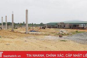 Dự án siêu thị mini Cẩm Lạc: Chưa được cấp phép xây dựng, đã rầm rộ thi công!