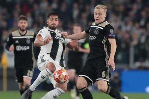 Ronaldo và các đồng đội thua sốc trước Ajax