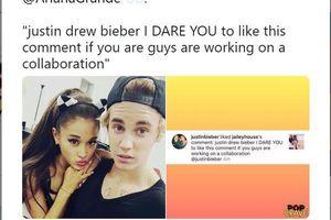 Màn hợp tác của Ariana Grande và Justin Bieber: Cơn địa chấn chuẩn bị bắt đầu?