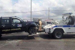 Tài xế 'điên' cầm rìu chém dân, tông cảnh sát giao thông Bà Rịa - Vũng Tàu tử vong