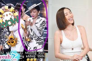 Tưởng Tóc Tiên xúc động khi nhận giải tại 'Cống hiến 2019', nhưng lý do sau đó mới khiến fan bất ngờ về 'độ lầy' của cô