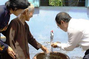 Nước sạch về với đồng bào biên giới 4 tỉnh Tây Nguyên