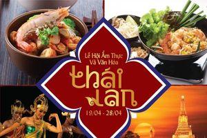 Lễ hội ẩm thực và văn hóa Thái Lan tại TPHCM