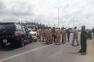 Đại úy CSGT bị tài xế 'điên' ép ngã xe ở Vũng Tàu đã qua đời