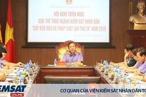 Tổ chức Giải thể thao ngành Kiểm sát nhân dân năm 2019 tại Bắc Ninh
