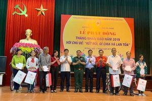 Hà Nam - tỉnh đầu tiên phát động 'Tháng Nhân đạo' năm 2019