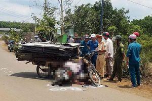 Tông xe ba gác chở tôn, một người tử vong
