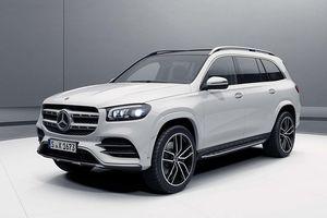 Những hình ảnh mới của chiếc Mercedes GLS 2020