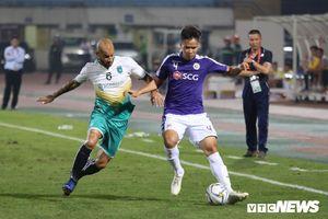 Đình Trọng trở lại, ngoại binh tỏa sáng giúp CLB Hà Nội vùi dập đội bóng Myanmar