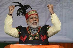 Narendra Modi 'tổng lực' giành lá phiếu của cử tri Ấn Độ