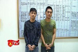 Hai đối tượng thực hiện 6 vụ cướp giật tài sản sa lưới