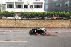 Người phụ nữ thiệt mạng trước chung cư Nam Đô là do tự gây tai nạn