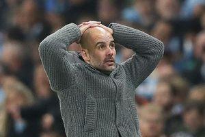 HLV Pep Guardiola cay cú với bàn thua khiến Man. City bị loại