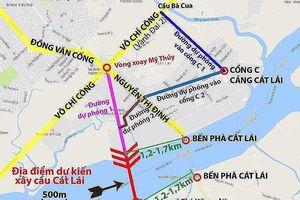 TP.HCM - Đồng Nai họp bàn về xây cầu Cát Lái 7.200 tỉ đồng