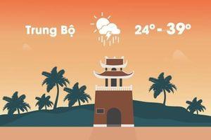Thời tiết ngày 18/4: Tây Bắc và Trung Bộ có nơi nóng trên 40 độ C