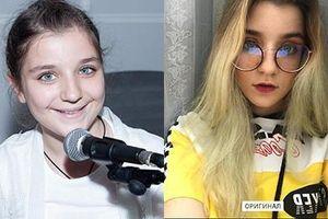 Giọng ca nhí người Nga lớn phổng phao, xinh đẹp ở tuổi 13
