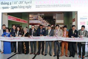Cosmobeauté Vietnam 2019 thu hút 200 doanh nghiệp trong nước và quốc tế tham gia