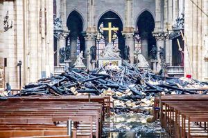 Khó xác định mức thiệt hại và quá trình phục dựng nhà thờ Đức Bà Paris