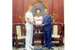 Bí thư Thành ủy TPHCM tiếp Tư lệnh USINDOPACOM