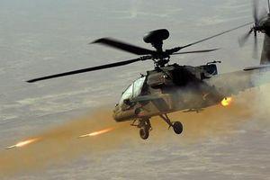 Quá căng: Trực thăng diệt tăng Apache cách biên giới Nga 100km