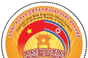 Triều Tiên phát hành tem kỷ niệm chuyến thăm Việt Nam của Chủ tịch Kim Jong-un