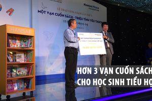 Hơn 3 vạn cuốn sách cho học sinh tiểu học TP.HCM