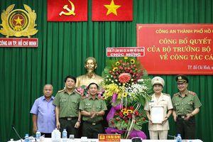 Đại tá Nguyễn Sỹ Quang làm Phó Giám đốc Công an TPHCM
