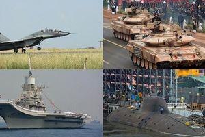 Ngắm kho vũ khí 'hùng hậu' Ấn Độ mua của Nga