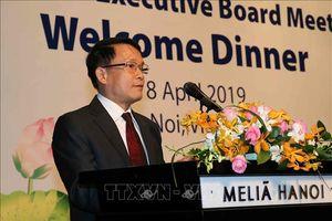 Tổng Giám đốc TTXVN chào mừng các đại biểu tới tham dự Hội nghị Ban chấp hành OANA