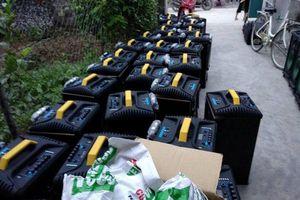 Vụ 700kg ma túy ở giữa cánh đồng ở Nghệ An: Thu giữ thêm 100 loa thùng và bao tải dùng để chứa ma túy