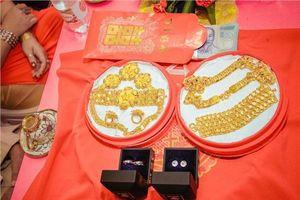 Nhờ bạn mai mối, cô dâu 2000 lấy được chồng trẻ kèm thêm 13 cây vàng, 2 nhẫn kim cương và 1 tỷ tiền mặt làm sính lễ