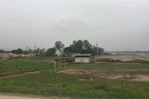 Xử lý các bãi VLXD không phép ở huyện Phú Xuyên: Sở TN&MT Hà Nội nói gì?