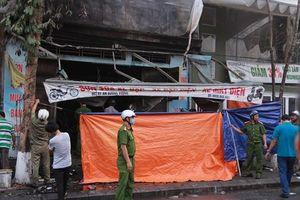 Cháy tại cửa hàng kinh doanh xe máy điện, ba người tử vong