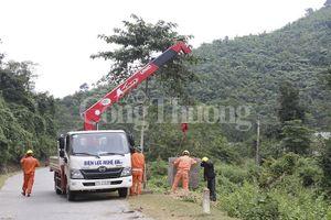 Nghệ An: Khó đưa điện đến 100% các thôn, bản