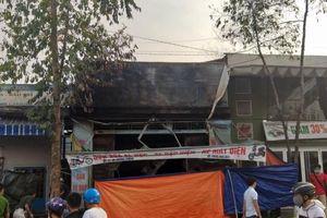 Cửa hàng xe điện cháy giữa đêm, 3 người trong gia đình tử vong