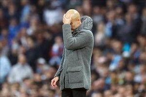 Pep thất vọng cùng cực khi Man City bị loại đầy cay đắng