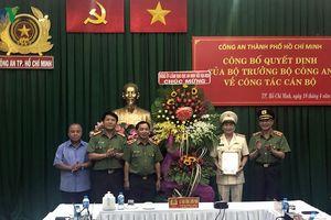Đại tá Nguyễn Sỹ Quang được bổ nhiệm Phó Giám đốc Công an TPHCM