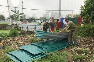 Quận Thanh Xuân: Quây 6.000m2 khu Đầm Hồng để quản lý, chống lấn chiếm đất công