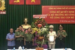 Bộ trưởng Công an bổ nhiệm Phó Giám đốc Công an TP. Hồ Chí Minh