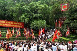 Trên 7 triệu du khách đã về Phú Thọ dâng hương tưởng nhớ các vua Hùng