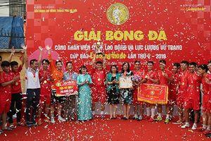 Bế mạc Giải bóng đá Cup báo Lao động Thủ đô năm 2019