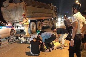 Hà Nội: Thanh niên 16 tuổi tông gục thiếu tá CSGT đang làm nhiệm vụ
