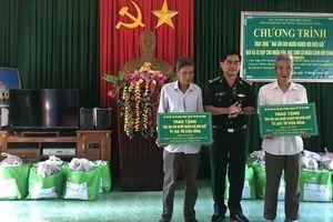 Tặng 'Mái ấm cho người nghèo nơi biên giới' ở Quảng Ngãi