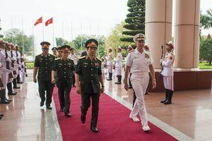 Tư lệnh Bộ Tư lệnh Ấn Độ Dương – Thái Bình Dương lần đầu thăm Việt Nam
